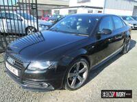 Audi A4 2.0 TDI QUATTRO 170 BLACK EDITION 4dr [Start Stop] + FULL SERVICE HISTORY (black) 2012