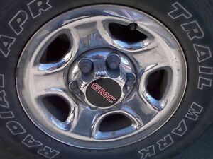 Factory 16 inch WHEEL from GMC / CHEV 1/2-ton