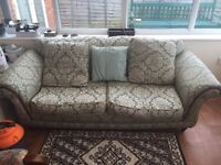 3 Piece Suit - 3 Seater Sofa and 2 Chairs