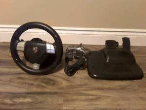 Fanatic  Porsche 911 Turbo  S Gaming steering  wheel with pedals