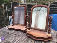 Old antique mirrors