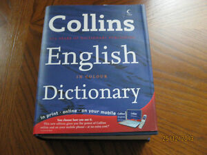 Collins dictionary (NEW - never used)