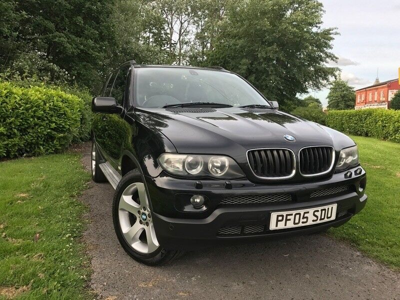 bmw x5 sport black 2005 in failsworth manchester gumtree. Black Bedroom Furniture Sets. Home Design Ideas