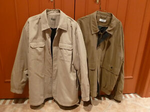 REDUCED PRICE MAN SPRING COATS