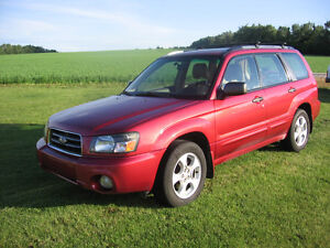 2003 Subaru Forester XS- Loaded  5 Speed $6500