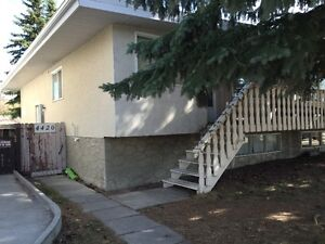 Totaly renovated 2 bed. lower level of Varsity house, near LRT