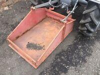 Grey Ferguson tractor transport box link box