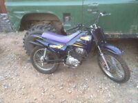 100cc crosser/field bike