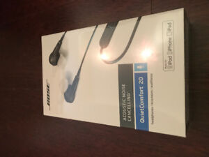 Bose QC20 Noise Cancelling Headphones *Brand New*