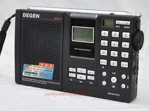 Radio Shortwave et MP3 Player