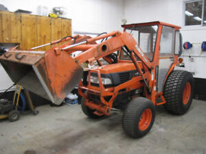 Wow great deal Kubota 30 hp with cab, heat