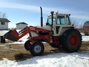 Case 1175 Tractor with Loader