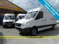 2012 62 MERCEDES-BENZ SPRINTER 2.1 313 CDI MWB 136 BHP 1 LEASE OWNER DIRECT BENZ