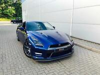2011 61 reg Nissan GT-R 3.8 V6 ( 530ps ) Blue + RECARO LEATHER + SAT NAV + ++