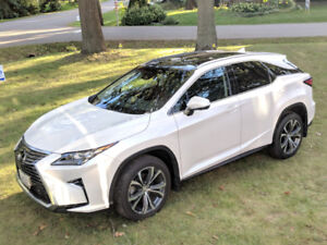 LEASE TAKEOVER LEXUS RX 350 ULTIMATE Package with 35000 Km/Year