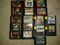 Jeux de sega genesis. jungle book, tmnt hyperstone +++