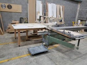 Woodworking equipment and shop for rent