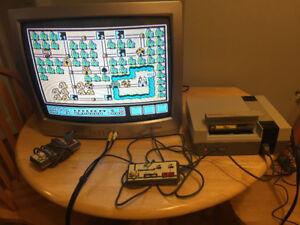 Nintendo Entertainment System NES +TV+ Super Mario 3+ everything