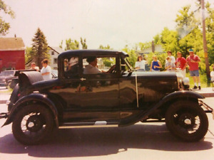 Model A Ford 1930