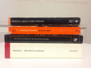 Lot of 4 Charles Dickens Books for Sale