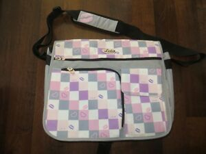 "Girls 17"" Laptop bag with smaller pocket as well - Like New"