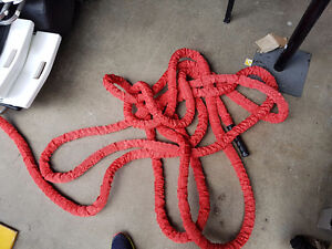 Battle rope, red