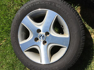 Honda Civis Si Rims and Tires