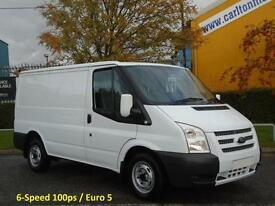 2012 12 Ford Transit 100 T280S Low Roof Panel Van 2.2Tdci 6 speed FWD
