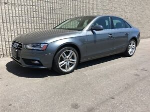 2014 Audi A4 Technik Sedan one owner with only 29,250km!!