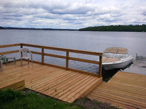 LAKEFRONT Home on Larder Lake/ buy now move in For CHRISTMAS
