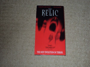 THE RELIC, VHS MOVIE, EXCELLENT CONDITION