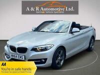 2015 BMW 2 Series 2.0 220i Sport (s/s) 2dr Convertible Petrol Manual