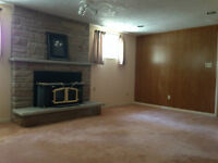 Basement Apartment / Rooms for Rent at Ellesmere / Military Tr