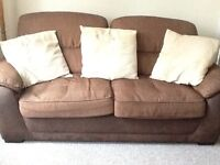 Settee & Two Armchairs