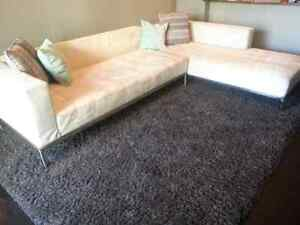 Contemporary style sectional