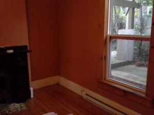 Large apartment on two levels with washer & dryer included