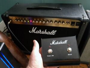Marshall Tube Amp with Foot Switch