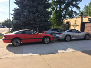 2 Dodge Stealth ES Coupe 1992 one 1993 not running
