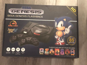 New!! Retro Sega Genesis Video Game System + 85 Games