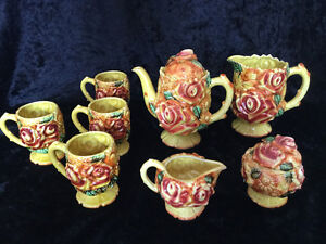 "Vintage (1950s +) ""ROYAL BOUQUET"" by Unicorn, Coffee Set Cambridge Kitchener Area image 1"