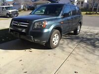 2006 honda pilot 4wd good condition