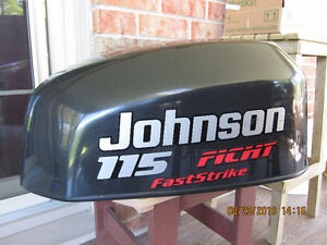 Johnson 115 HP FastStrike Outboard Top Engine Cover Cowl