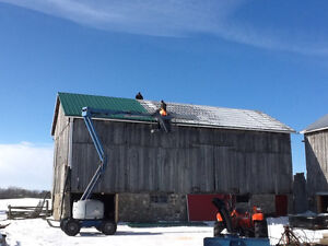BARN REPAIRS,PAINTING, STEEL ROOFING London Ontario image 3