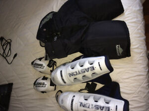 Men's hockey pants shin pads and elbow pads no offer refused
