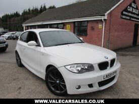 2009 59 BMW 1 SERIES 118D M SPORT 3DR DIESEL