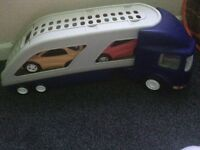 Boys lorry & cars toy.