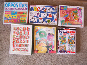 6 children's puzzles/puzzle game--all are complete London Ontario image 1