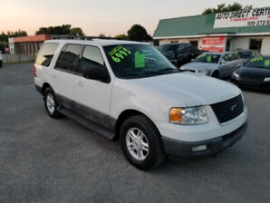 FORD EXPEDITION XLT - 4X4 ** 8 PASSENGER SUV ** CERTIFIED $6499
