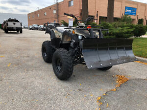 Ready for Snow  ATV & Snow Plow deal