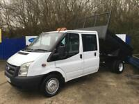 2009 Ford Transit 2.4TDCi Duratorq ( 100PS ) 350L 6sp LWB Double Cab Tipper